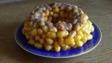 Торт из кукурузных палочек: рецепт с фото