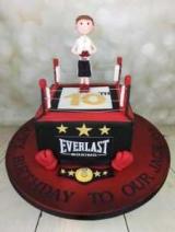 Строгий торт - торт для боксера