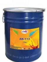 Лак АК-113: описание, характеристики, применение
