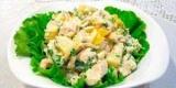 Салату з ананаса з куркою і грибами: рецепт з фото
